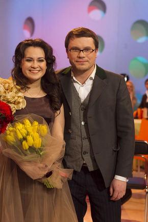 V. Ovadnevo nuotr./Evelina Sašenko su scenos partneriu Andrium Kairiu