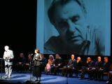 Padoriausias Lietuvos žmogus Justinas Marcinkevičius aktorių pagerbtas jo paties eilėmis