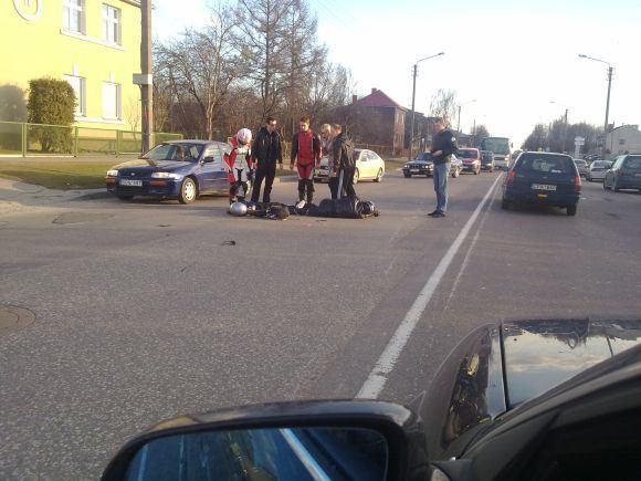 Kauno policijos nuotr./Avarija Veiverių gatvėje