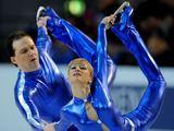 AFP/Scanpix nuotr./Iairusi pora: Tatiana Volosozhar ir Stanislavas Morozovas