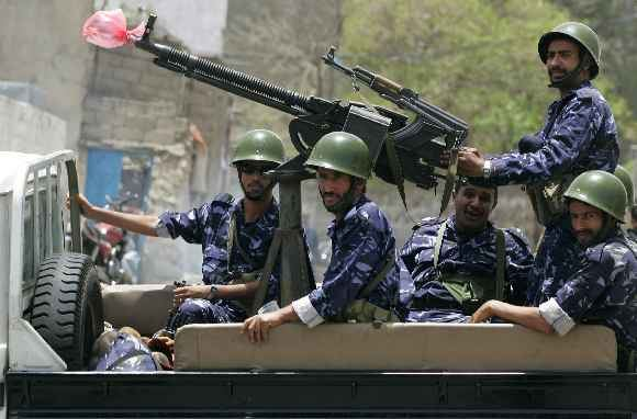 Reuters/Scanpix nuotr./Kariuomenė Jemene