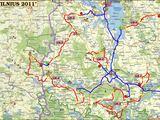 """15min.lt nuotr./Ralio """"Vilnius 2011"""" pagrindinis žemėlapis"""