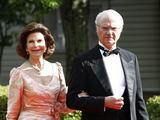 """""""Reuters""""/""""Scanpix"""" nuotr./Švedijos karalius Carlas XVI Gustafas su karaliene Silvia"""