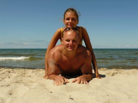 15min.lt skaitytojų nuotr./Bikini porelė: Indrė ir Ernestas Kavaliauskai