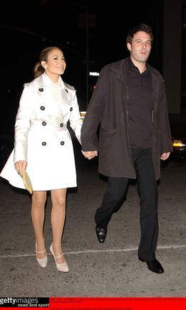 AOP nuotr./Benas Affleckas ir Jennifer Lopez