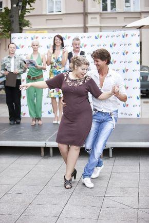 """Kviečiu šokti"""": Andrius Butkus Eriką Vitulskienę laikinai"""
