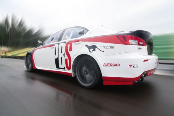 Giedriaus Matulaičio/matulaitis.lt nuotr./Lexus IS F  Artas Racing  PBS ginklas tūkstančiui kilometrų