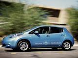 """Gamintojo nuotr./""""Nissan Leaf"""" – praėjusių metų konkurso nugalėtojas"""