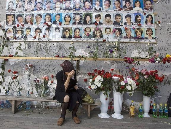 AFP/Scanpix nuotr./Alfa būrys dalyvavo ir tragiakai pasibaigusioje Beslano įkaitų operacijoje