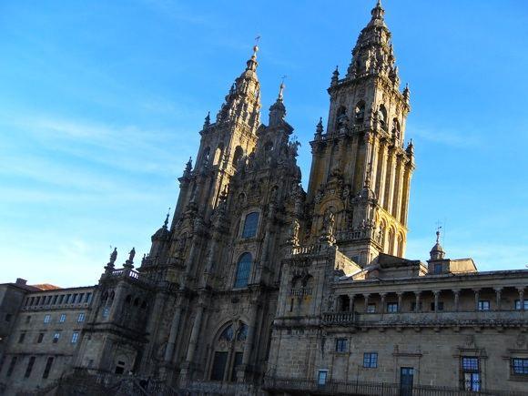E.Garnelytės nuotr./Santiago de Compostela katedra