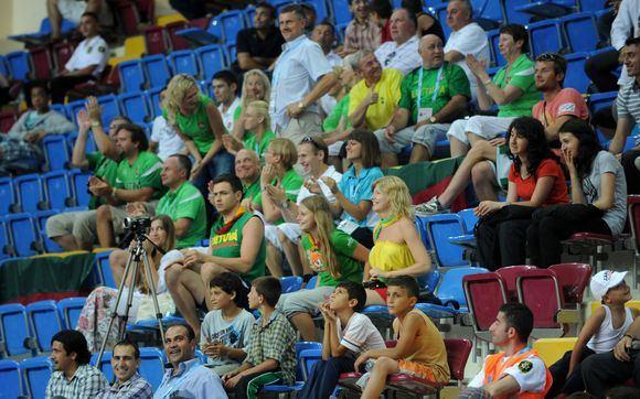 A.Pliadžio nuotr./Lietuvos penkiolikmečiai pergale pradėjo olimpiniame festivalio krepainio turnyrą