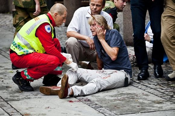 Scanpix nuotr./Per sprogimą Osle sužeista Line Nersnaes