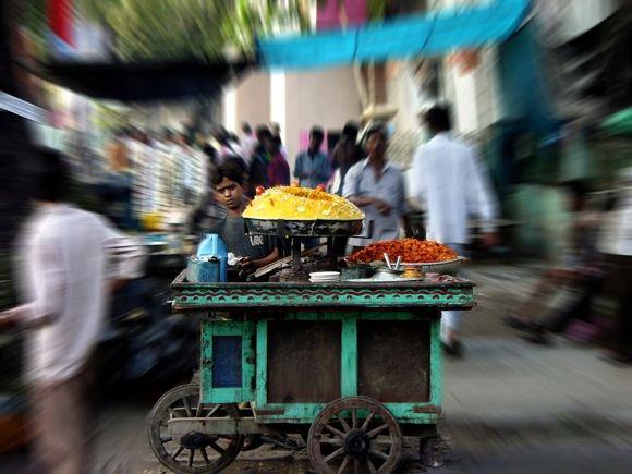 sxc.hu nuotr./Maisto pardavėjas Indijoje