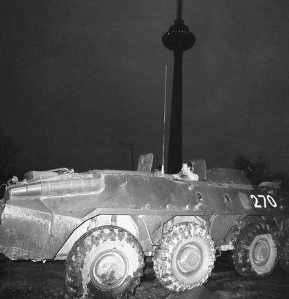 BFL nuotr./Okupacinės sovietų armijos šarvuotis