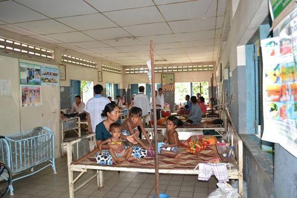 UNICEF nuotr./Kambodžos ligoninė