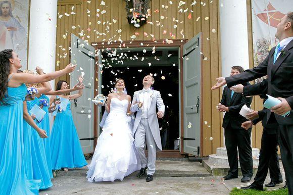 Gedimino Tamulyno nuotr./Liudo Mikalausko ir Sigitos Vėželytės vestuvės