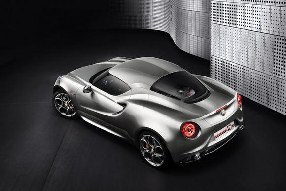 Gamintojo nuotr./Alfa Romeo 4C