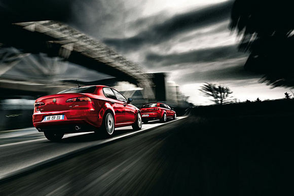 Gamintojo nuotr./Alfa Romeo 159
