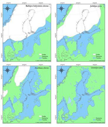 """Kaip """"išsirito"""" Baltijos jūra?"""
