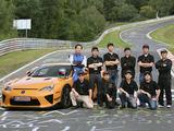 Organizatorių nuotr./Lexus LFA Nürburgring Edition