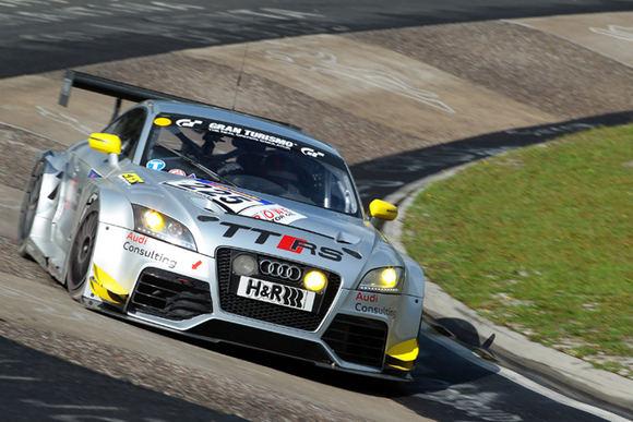 Gamintojo nuotr./Žiedinėms lenktynėms pritaikytas Audi TT RS