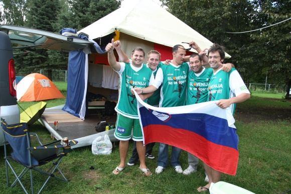 Juliaus Kalinsko/15 minučių nuotr./Vilniaus kempinge apsistojo slovėnai