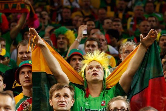 FIBA nuotr./Lietuvos krepainio gerbėjai