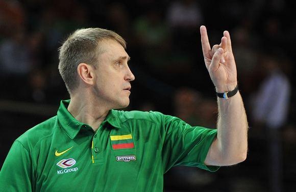 Lietuvos krepšinio rinktinės treneris Kęstutis Kemzūra