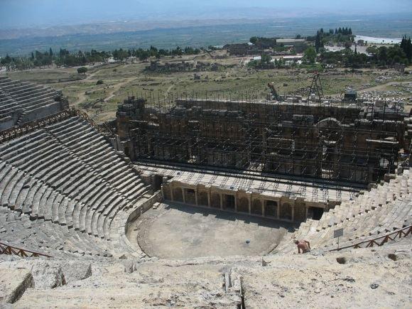 V.Ulevičiūtės nuotr./Vienas ia Turkijos amfiteatrų