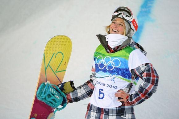 AFP/Scanpix nuotr./Snieglentininkė Gretchen Bleiler