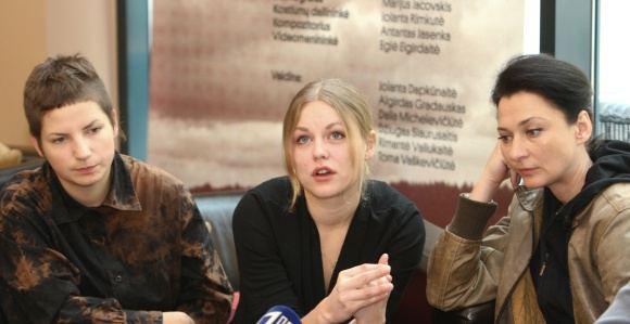Andriaus Ufarto/BFL nuotr./Ia kairės: Eglė Eigirdaitė, Toma Vaakevičiūtė ir Rimantė Valiukaitė 1