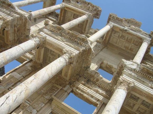 R.Vinterytės nuotr./Celsijaus bibliotekos fasadas, Efesas