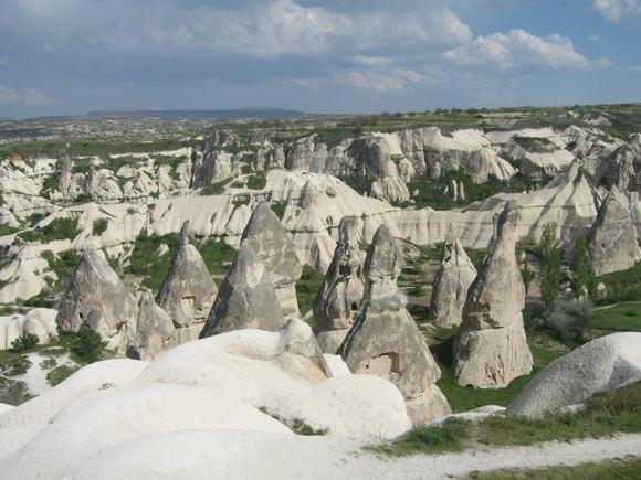 R.Vinterytės nuotr./Kapadokijos peizažas