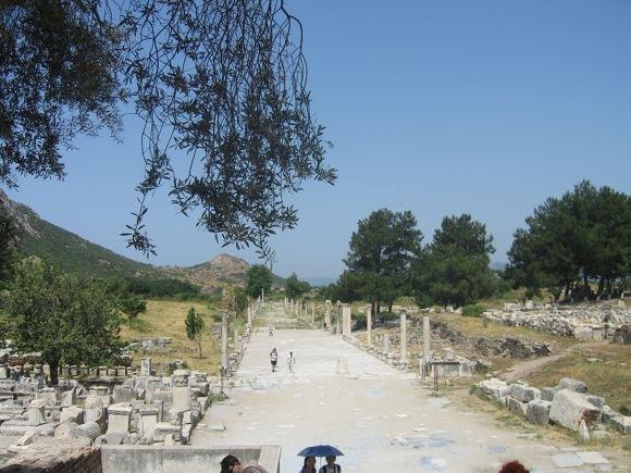 R.Vinterytės nuotr./Uosto gatvė Efese
