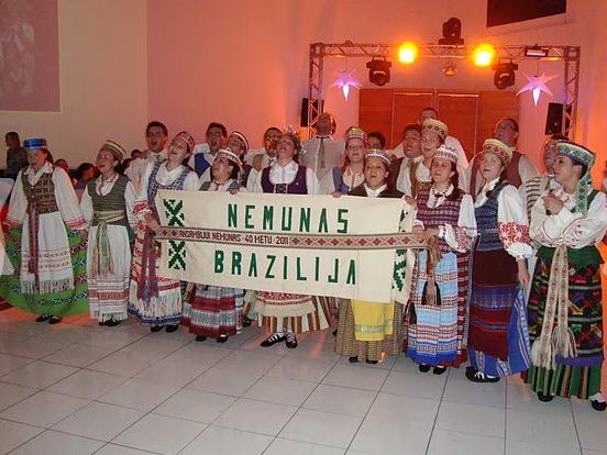 K.Pikūno nuotr./Brazilijos lietuvių bendruomenės susibūrimas