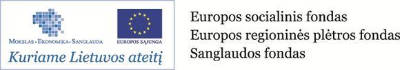 Europos socialinio fondo nuotrauka/Kuriame Lietuvos ateitį logotipas