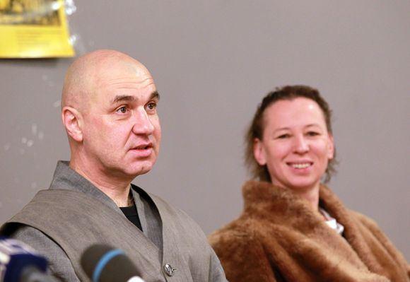 Irmanto Gelūno/15min.lt nuotr./Kęstutis Marčiulynas - Bo Haeng ir Eglė Mikulionytė