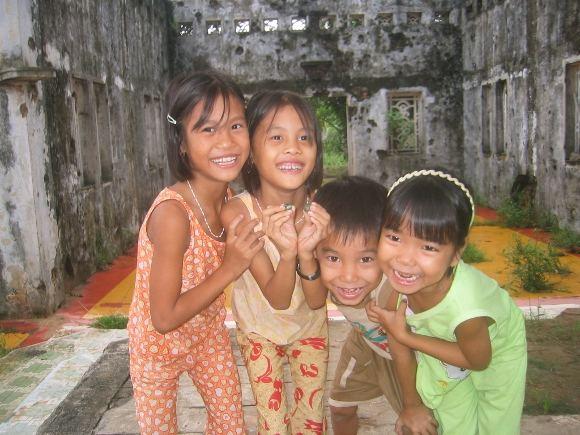 D.Kinderio nuotr./Vietnamiečių vaikai