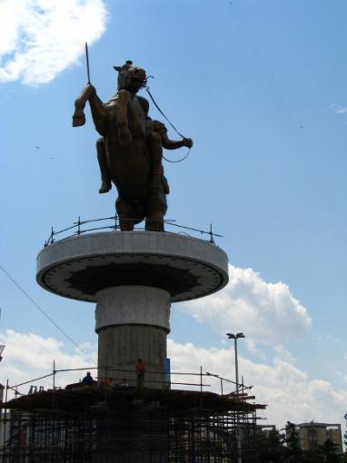 M.Podnieces nuotr./Grėsmingai atrodanti statula