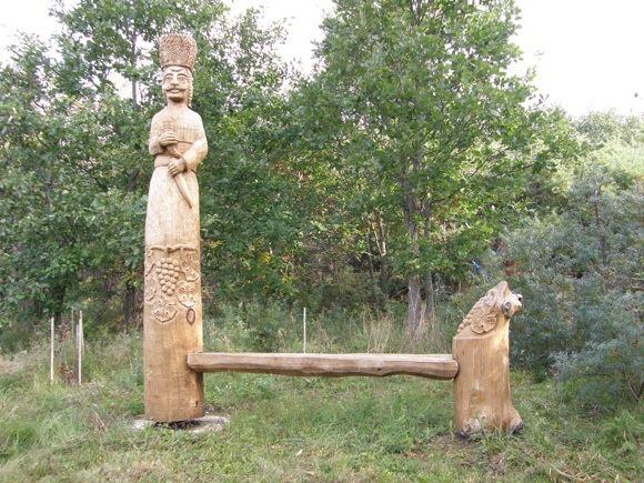 M.Jankutės nuotr./Viena ia daugelio parko skulptūrų