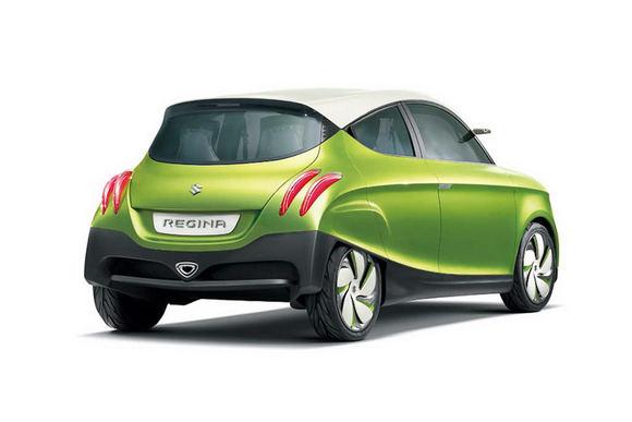 Gamintojo nuotr./Suzuki Regina koncepcija