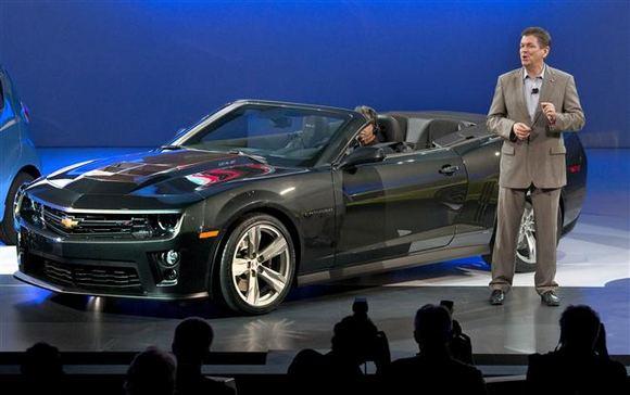 Reuters/Scanpix nuotr./Chevrolet Camaro Convertible