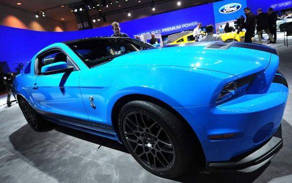 AFP/Scanpix nuotr./Ford Shelby Cobra GT500