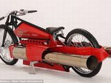 Gamintojo nuotr./Reaktyvinis Harley Davidson