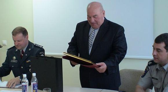 vilkmerge.lt nuotr./S.Skvernelio ir A.Kopūsto susitikimas