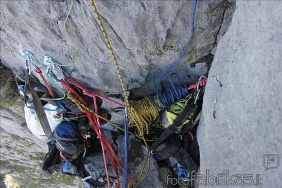 MM alpinistų nuotr./Stacionari stotis ir įranga