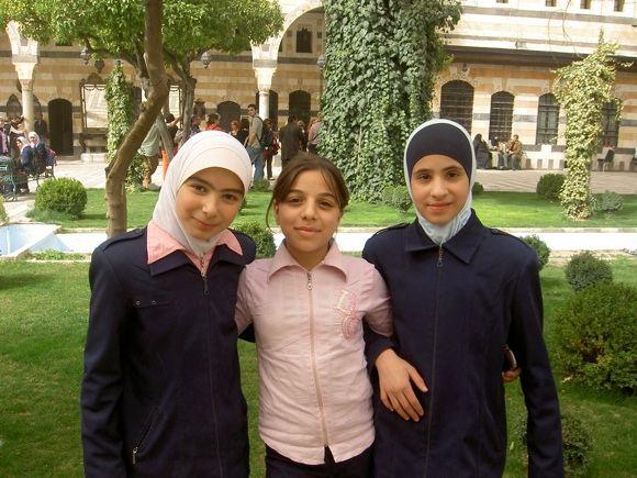 M.Jankutės nuotr./Jaunos Damasko gyventojos