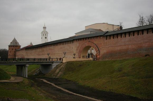 A. Kočevnik nuotr./Novgrodo kremlius - seniausias visoje Rusijoje