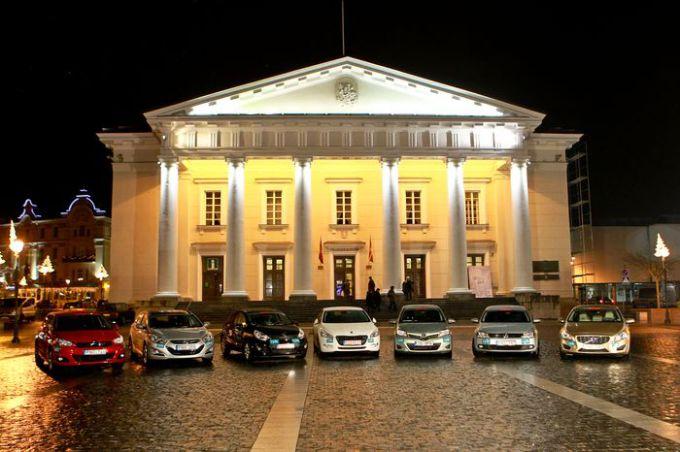 Konkurso Metų automobilis 2012 finalas: septyni geriausieji