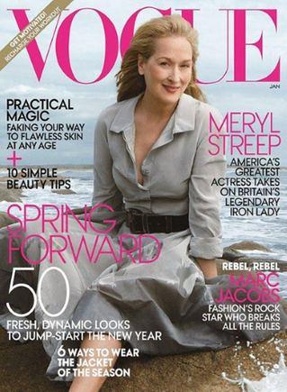 Vogue viraelis/Meryl Streep